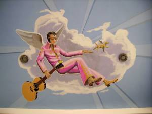 Elvis-Angel-mural
