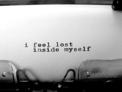 lost inside myself