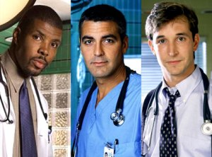 Actually, any one of these three doctors would have made my visit perfect. Eric LaSalle, George Clooney or Noah Wyle.